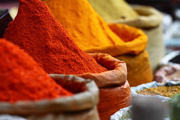 spice colours