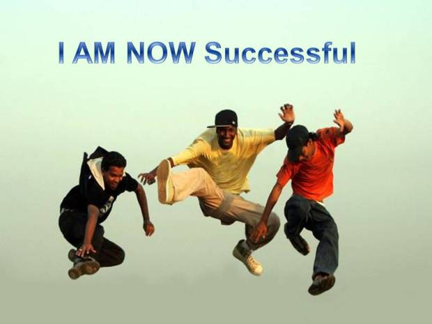 I am successful