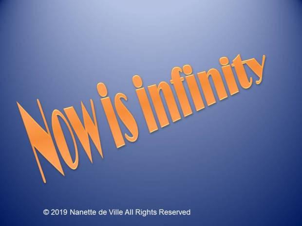 Now is infinity