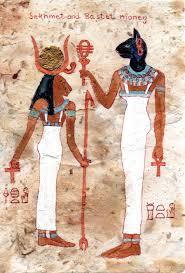 Sekhmet and Bastet