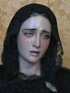 The Madonna Who Weeps